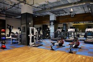 Fitness/ Exercise Room - Kimpton Cardinal Hotel Downtown Winston Salem