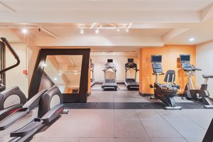 Fitness/ Exercise Room - Holiday Inn Airport San Jose