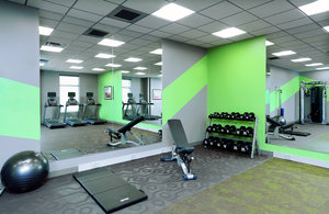 Fitness/ Exercise Room - Holiday Inn & Suites Airport Sioux Falls