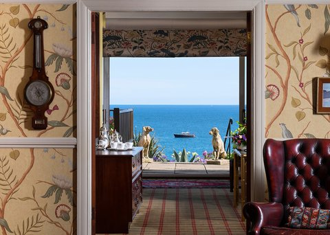 Stunning sea views from the moment you enter
