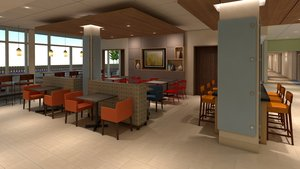 Restaurant - Holiday Inn Express Hotel & Suites Versailles