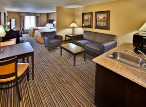 Room - Holiday Inn Express Hotel & Suites Council Bluffs