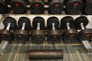 Fitness/ Exercise Room - Holiday Inn Express Hotel & Suites East Evansville