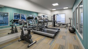 Fitness/ Exercise Room - Holiday Inn Express Hotel & Suites Airdrie