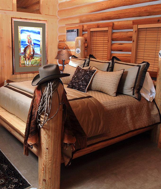 Bedroom Luxury Cabin