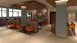 Restaurant - Holiday Inn Express Hotel & Suites Braselton