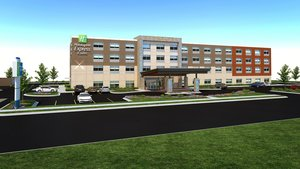 Exterior view - Holiday Inn Express Hotel & Suites Braselton