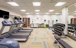 Fitness/ Exercise Room - Holiday Inn Express Hotel & Suites Lenexa