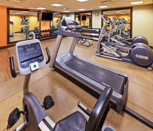 Fitness/ Exercise Room - Holiday Inn Express Downtown Fort Worth