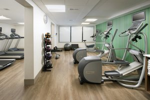 Fitness/ Exercise Room - Holiday Inn Express Hotel & Suites College Park