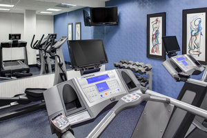 Fitness/ Exercise Room - Holiday Inn Express Hotel & Suites Coralville