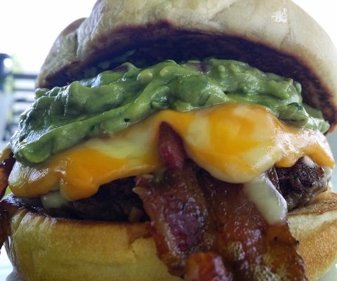 Guacamole Cheesburger