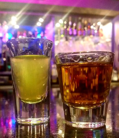 Z Loft Drinks: Jameson With A Pickleback