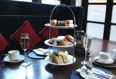 Enjoy our \'oui\' afternoon tea from ᅡᆪ22.95 pp