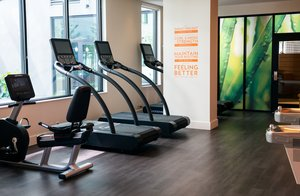 Fitness/ Exercise Room - Staybridge Suites South Lake Union Seattle