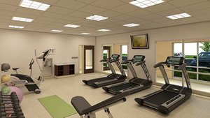 Fitness/ Exercise Room - Holiday Inn Express Hotel & Suites Junction