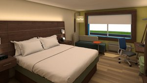 Room - Holiday Inn Express Hotel & Suites Junction