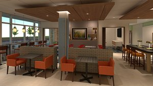 Restaurant - Holiday Inn Express Hotel & Suites Cypress