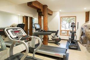 Fitness/ Exercise Room - Timber Cove Inn Jenner