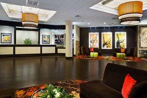 Lobby - Sheraton Hotel at Monarch Place Springfield
