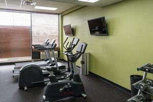 Fitness/ Exercise Room - Holiday Inn Big Rapids