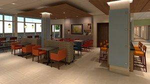 Restaurant - Holiday Inn Express Airport Pittston