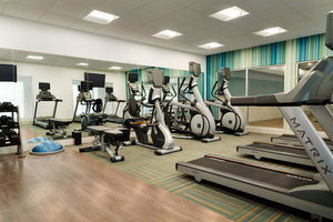 Fitness/ Exercise Room - Holiday Inn Express Airport Pittston
