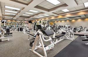 Fitness/ Exercise Room - Crowne Plaza Hotel Knoxville