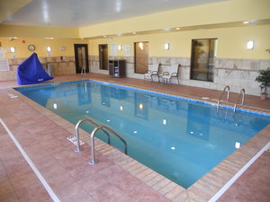 Pool - Holiday Inn Express Hotel & Suites Greensburg
