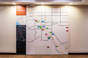 Map - Towneplace Suites by Marriott Chino Hills