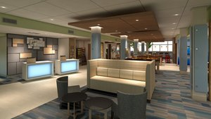 Lobby - Holiday Inn Express Hotel & Suites Outlet Mall Gettysburg