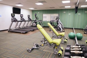 Fitness/ Exercise Room - Holiday Inn Express Hotel & Suites North Shore Niles