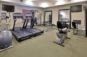 Fitness/ Exercise Room - Holiday Inn Express Hotel & Suites North Topeka