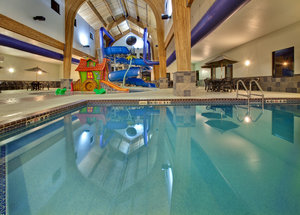 Pool - Holiday Inn Express Hotel & Suites Watertown