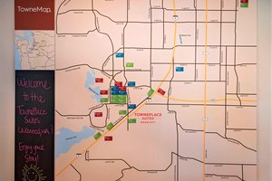 Map - TownePlace Suites by Marriott Lakewood