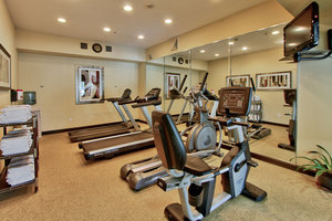 Fitness/ Exercise Room - Holiday Inn Express Hotel & Suites Center Houston