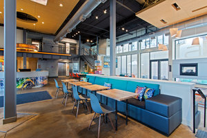 Restaurant - Aloft Soho Square Hotel Homewood