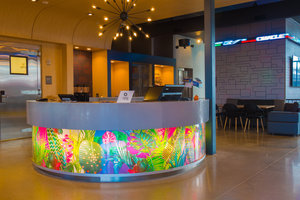 Lobby - Aloft Hotel South Corpus Christi