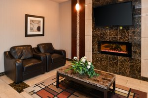 Lobby - Holiday Inn Express Hotel & Suites Rexall Edmonton