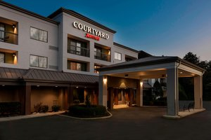 Exterior view - Courtyard by Marriott Hotel Asheville