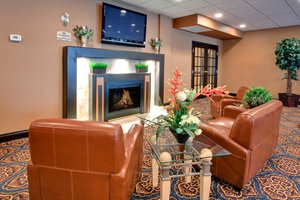 Lobby - Holiday Inn Express Hotel & Suites Airport Calgary