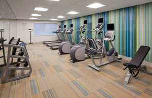 Fitness/ Exercise Room - Holiday Inn Express Hotel & Suites Downtown Des Moines