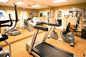 Fitness/ Exercise Room - Holiday Inn Express Hotel & Suites Corpus Christi