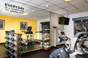 Fitness/ Exercise Room - Staypineapple Hotel Five Seattle