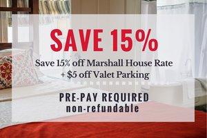 Room - Marshall House Hotel Savannah