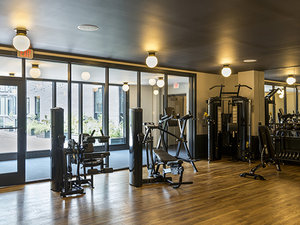 Fitness/ Exercise Room - Ace Hotel Warehouse District New Orleans