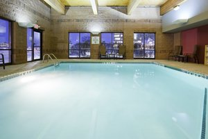 Pool - Holiday Inn Express Hotel & Suites West Bloomington