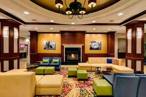 Lobby - Marriott Hotel Midway Airport Chicago