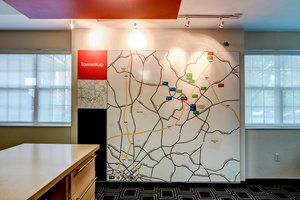 Map - TownePlace Suites by Marriott University Charlotte