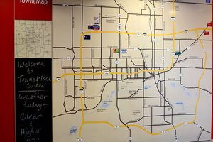 Map - TownePlace Suites by Marriott Johnston
